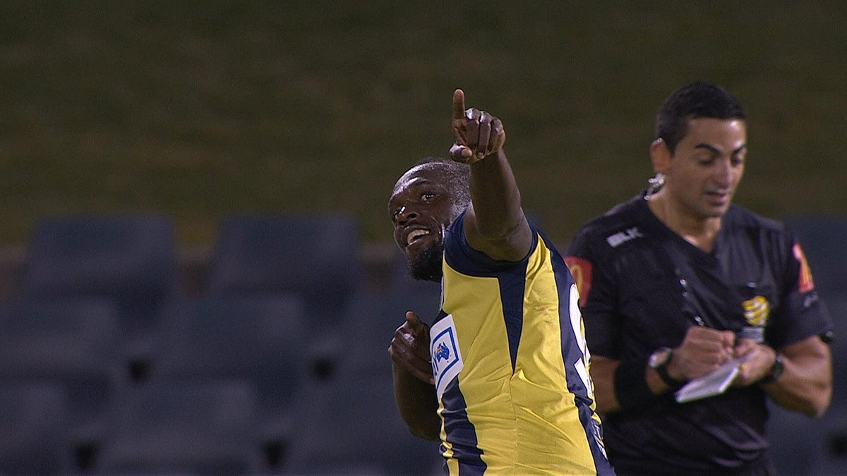 b2401ae0a Usain Bolt Scores Twice In First Game For Australia s Central Coast ...