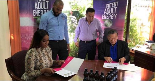 Yanique Curvy Diva Signs Multi Million Dollar The Tropixs