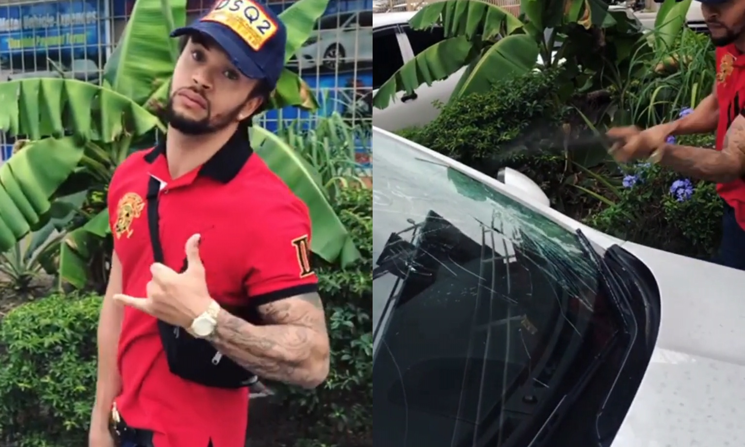 Dancehall Artiste Lord Cavalli Wrecks Jaguar Because He Was Bored