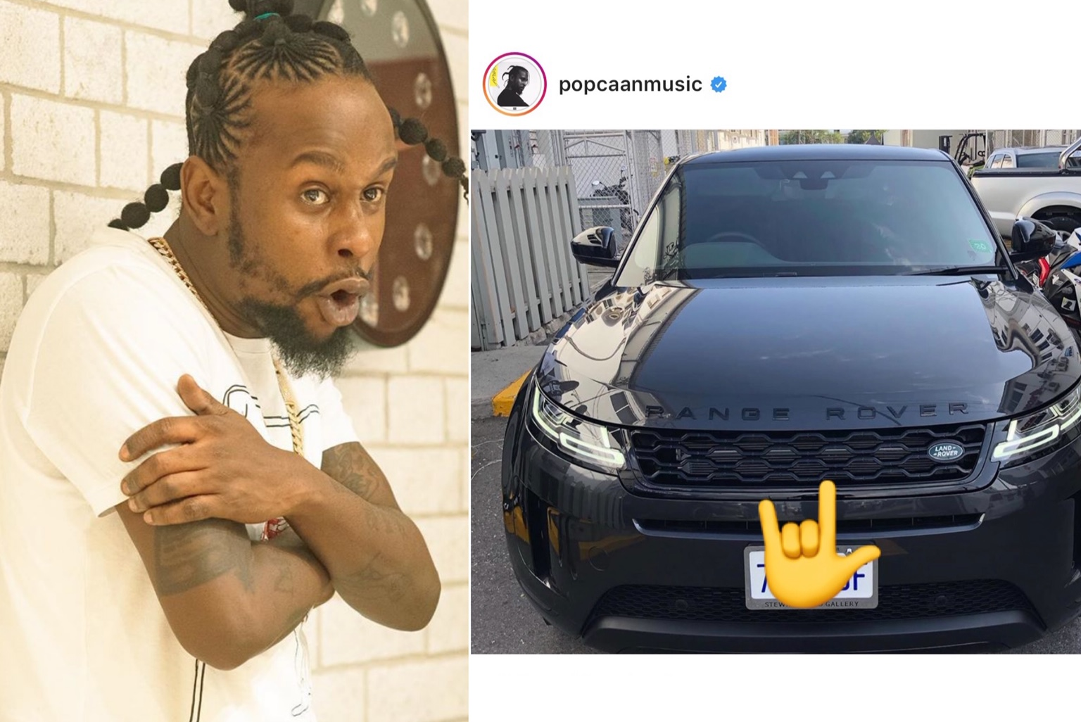 Popcaan Buys 2020 Range Rover To Celebrate Successful