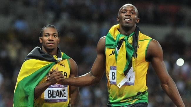 Usain Bolt Yohan Blake