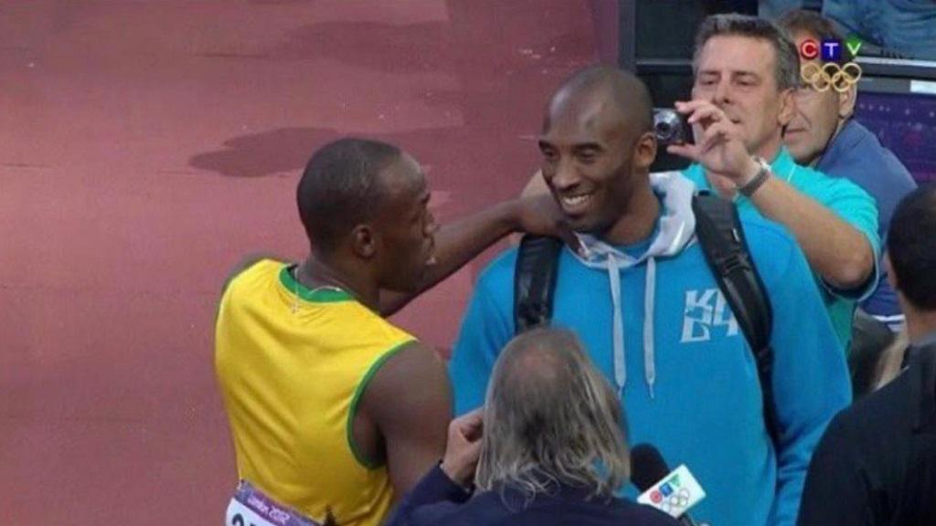 Usain Bolt Kobe Bryant