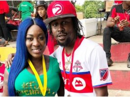 Dancehall stars Spice and Popcaan